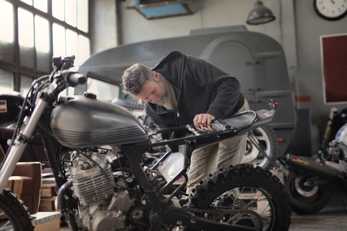 Learn About Motorcycle Parts Through Service Manuals